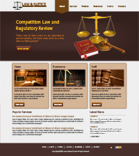 Law and Justice Web Templates Web Templates powerpoint templates