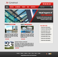 Architecture and Building Web Templates powerpoint templates
