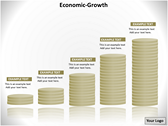 Economic Growth Animations powerpoint templates