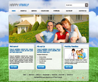 Happy Family Web Templates Web Templates powerpoint templates