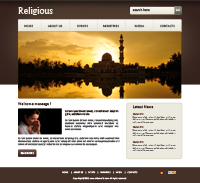 Religious and Culture Web Templates powerpoint templates