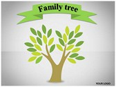 Family Tree Animated Animations powerpoint templates
