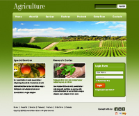 Farming HTML Web Template Web Templates powerpoint templates