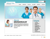 Medical Clinic Website Templates Web Templates powerpoint templates