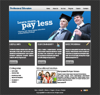 Education Template Web Templates powerpoint templates