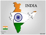 INDIA Powerpoint Map Maps powerpoint templates