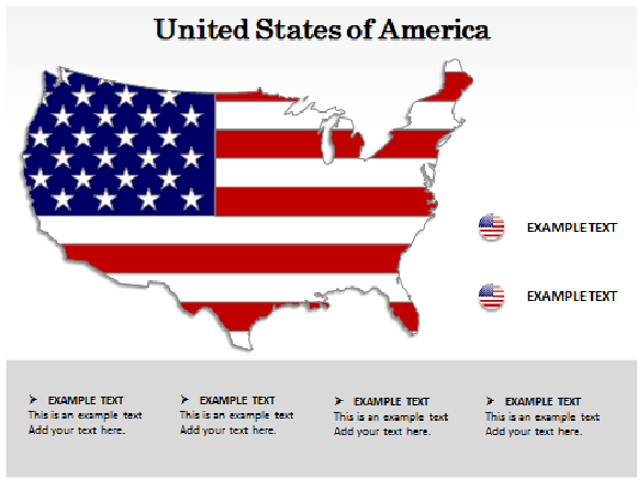US Map PowerPoint, Free Editable US Map