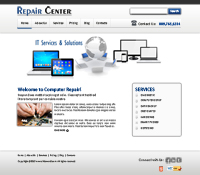Computer Repair Web Templates Web Templates powerpoint templates