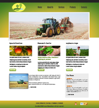 Cultivation Web Template Web Templates powerpoint templates
