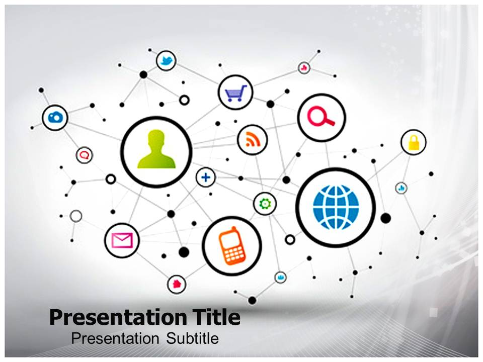 Communication Templates powerpoint templates