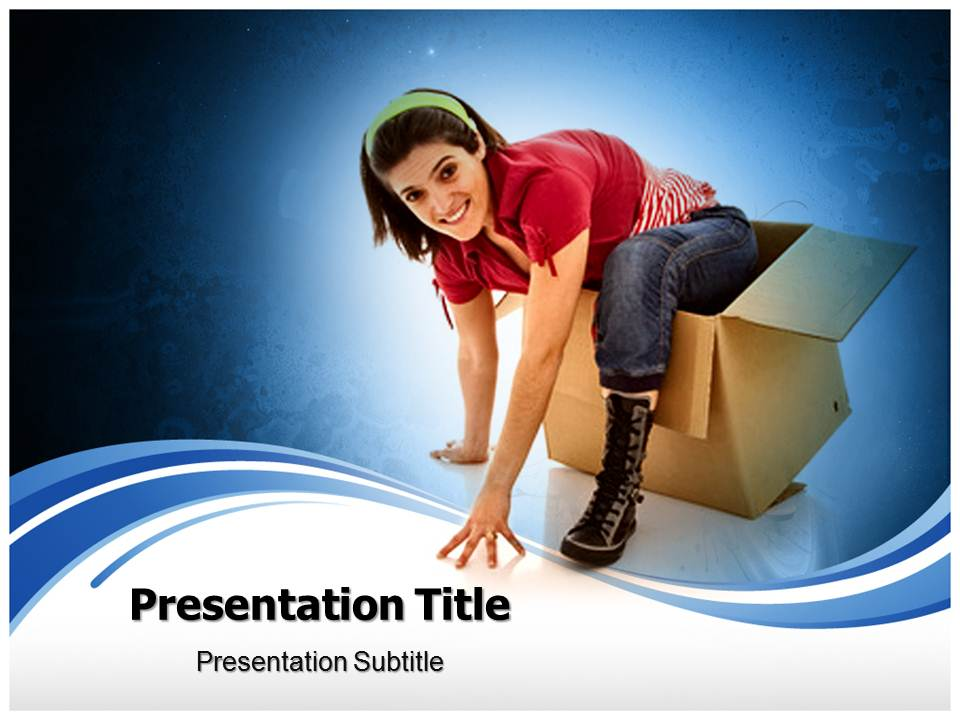 Thinking out of the box Business powerpoint templates