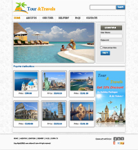 Travel Agency Web Templates Web Templates powerpoint templates
