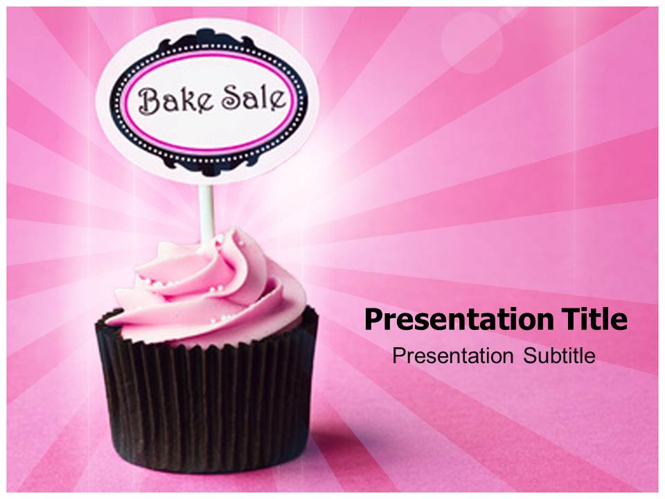 Bake Cake Templates powerpoint templates