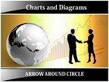Arrow Circle PowerPoint Background