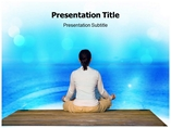Yoga Medical powerpoint templates