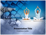 Yoga Template Medical powerpoint templates