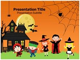 Halloween Templates powerpoint templates