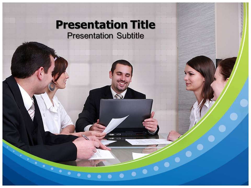 Meeting Business powerpoint templates