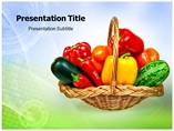 vegetables Templates powerpoint templates