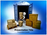 Logistic Templates powerpoint templates