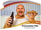 Fast foods  powerpoint templates
