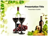 Alcoholic product Medical powerpoint templates