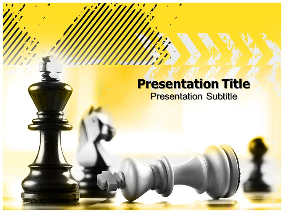Competitor Business powerpoint templates