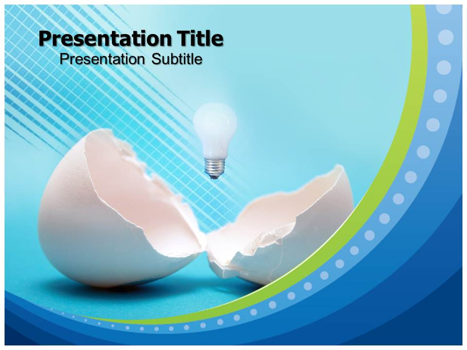 New Idea Business powerpoint templates