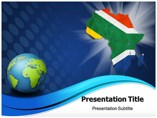 Map of Africa Maps powerpoint templates