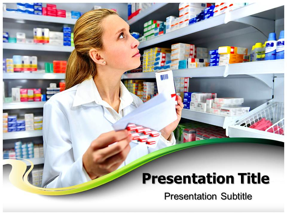 Pharmacy Medical powerpoint templates