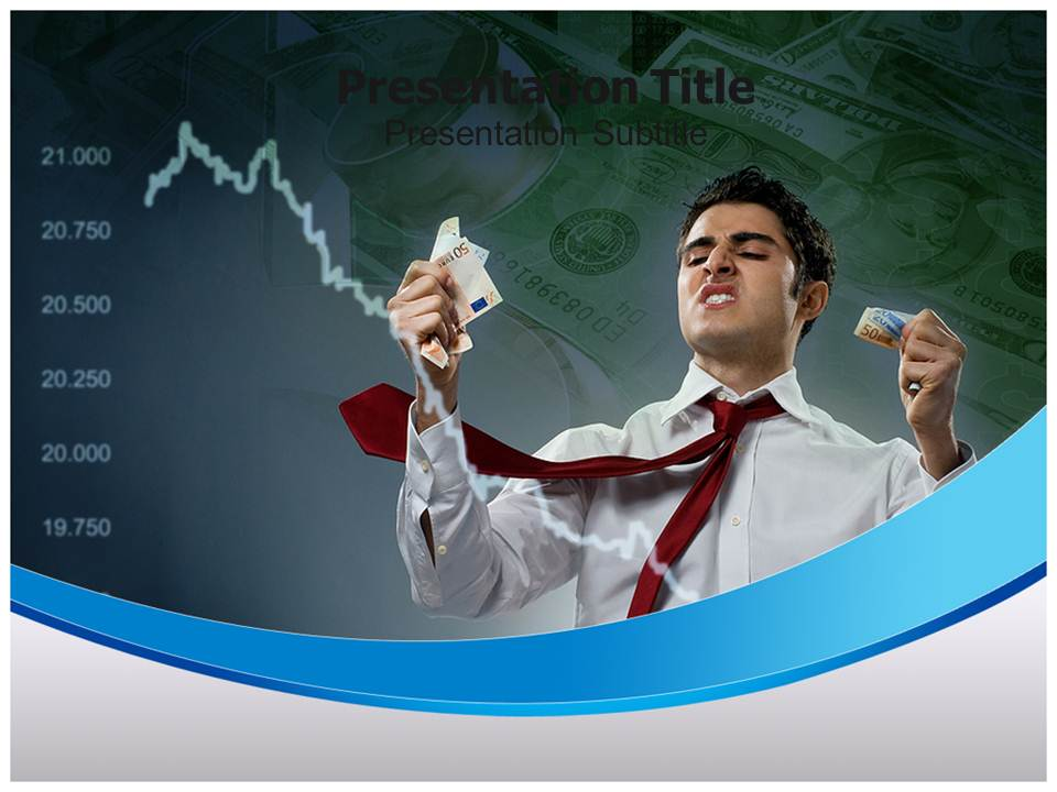 Stock Market Crash Business powerpoint templates