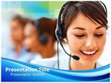 Call Center Business powerpoint templates