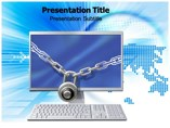 Cyber Security Templates powerpoint templates