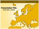 Europe Map Maps powerpoint templates