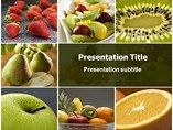 PPT Templates of Fruits