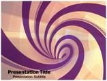 Swirl Templates powerpoint templates