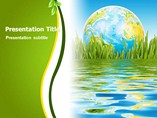 Green Globe - PPT Templates