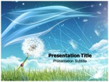 Dandelion Templates powerpoint templates