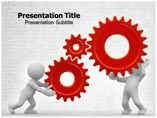 Gear Wheels Templates powerpoint templates