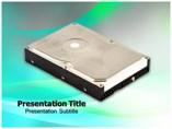 Hard Drive Templates powerpoint templates