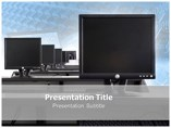 Monitors Templates powerpoint templates