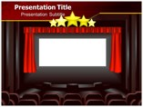 Movie Theater seating  powerpoint templates