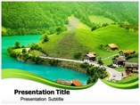 Nature view Templates powerpoint templates