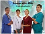 Nursing Staff Medical powerpoint templates