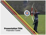 Archery Templates powerpoint templates