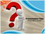 Big Question Templates powerpoint templates