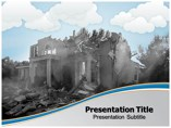 Disasters Templates powerpoint templates