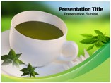 Green Tea Templates powerpoint templates