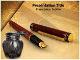 Inkpen Templates powerpoint templates
