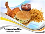 Junk Food Templates powerpoint templates